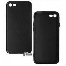 Чехол для IPhone 7 / iPhone 8, Joy, силиконовый, матовый, черный