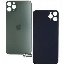Задняя панель корпуса для iPhone 11ProMax, зеленая, не нужно снимать стекло камеры, small hole