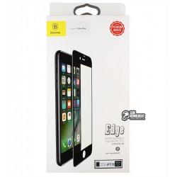 Защитное стекло для Iphone 7/8, Baseus All-screen Arc-surface 0.3mm, черное
