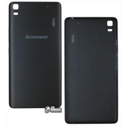 Задняя крышка батареи для Lenovo A7000, K3 Note (K50-T5), чёрная