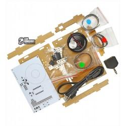 KIT для сборки аудио спектранализатора с акриловым корпусом