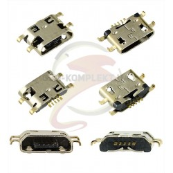 Коннектор зарядки для Meizu M2 mini, M1 Note, M3s, U10, micro-USB