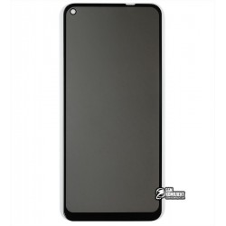 Закаленное защитное стекло для Samsung A115, M115 Galaxy A11, M11, 2.5D, Full Glue, Антишпион, черное