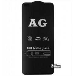 Закаленное защитное стекло для Realme X3, Oppo A920, 0,26 мм 9H, 2.5D, Full Glue, матовое, черное
