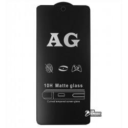 Закаленное защитное стекло для Xiaomi Redmi Note 9s, Redmi Note 9 Pro, 0,26 мм 9H, 2.5D, Full Glue, матовое, черное
