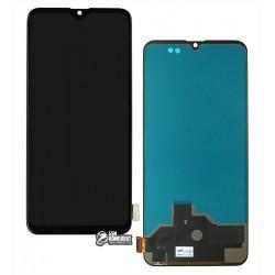 Дисплей Realme XT черный, с сенсорным экраном (дисплейный модуль), без Touch ID, (TFT)