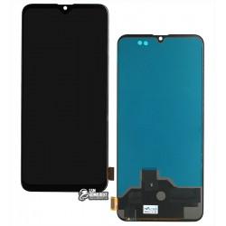 Дисплей Realme XT, черный, с сенсорным экраном (дисплейный модуль), оригинал (переклеено стекло)
