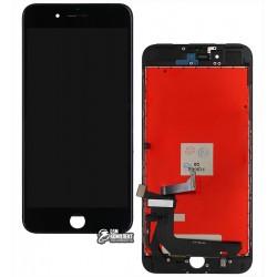 Дисплей iPhone 7 Plus, черный, с сенсорным экраном (дисплейный модуль), с рамкой, Сopy, NCC ESR ColorX