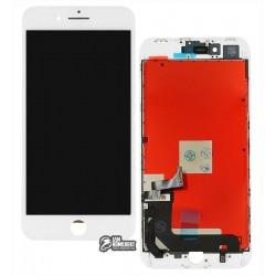 Дисплей iPhone 8 Plus, белый, с сенсорным экраном (дисплейный модуль), copy