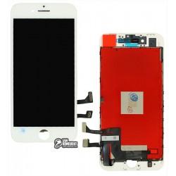 Дисплей iPhone 8, белый, с сенсорным экраном (дисплейный модуль), с рамкой, Сopy, NCC ESR ColorX