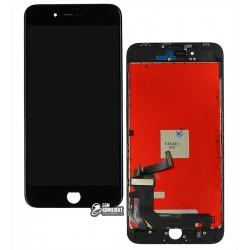 Дисплей iPhone 8 Plus, черный, с сенсорным экраном (дисплейный модуль), с рамкой, Сopy, NCC ESR ColorX