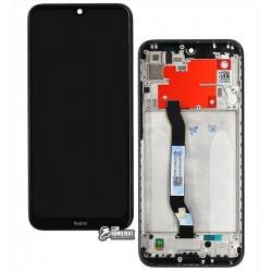 Дисплей Xiaomi Redmi Note 8T, черный, с сенсорным экраном (дисплейный модуль), c рамкой, Original (PRC)