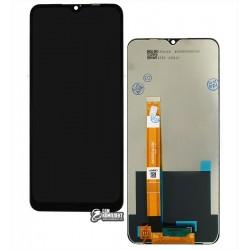 Дисплей Realme 5i, 6i, черный, с сенсорным экраном (дисплейный модуль), Original (PRC)