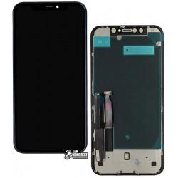 Дисплей iPhone XR, черный