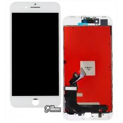 Дисплей iPhone 8 Plus, белый, с сенсорным экраном (дисплейный модуль), с рамкой, Сopy, NCC ESR ColorX