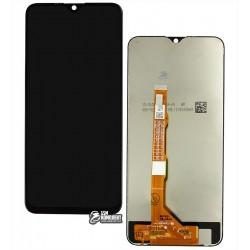 Дисплей Vivo Y19, черный, с сенсорным экраном (дисплейный модуль), Original (PRC)