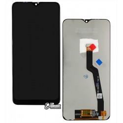 Дисплей Samsung A105 Galaxy A10, M105 Galaxy M10; Samsung, черный, с сенсорным экраном, Best copy, Сopy