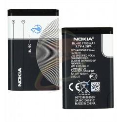 Аккумулятор BL-6C для Nokia 112, 5320, E70, (Li-ion 3.7V 1150 mAh)