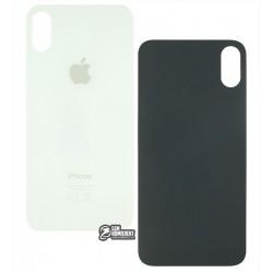 Задняя панель корпуса для iPhone XS, белая, не нужно снимать стекло камеры, big hole