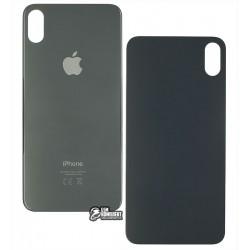 Задняя панель корпуса для iPhone XS Max, черная, не нужно снимать стекло камеры, big hole