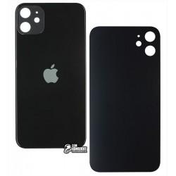 Задняя панель корпуса для iPhone 11, черная, не нужно снимать стекло камеры, small hole