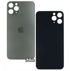 Задняя панель корпуса для iPhone 11Pro, серая, не нужно снимать стекло камеры, small hole