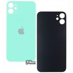Задняя панель корпуса для iPhone 11, зеленая, не нужно снимать стекло камеры, big hole