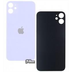 Задняя панель корпуса для iPhone 11, фиолетовая, не нужно снимать стекло камеры, big hole