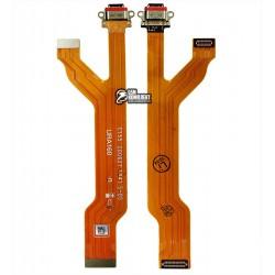 Шлейф для Realme 5 Pro, коннектора зарядки (USB Type-C)