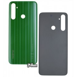 Задняя панель корпуса Realme 6i, зеленая