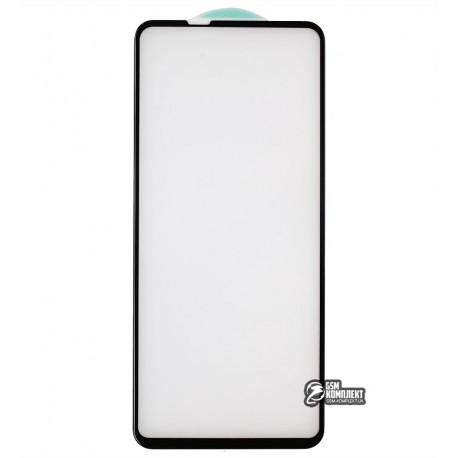 Закаленное защитное стекло для Samsung A217 Galaxy A21s, 3D, 4D ARC, черное
