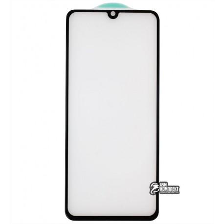 Закаленное защитное стекло для Samsung A315 Galaxy A31, 3D, 4D ARC, черное