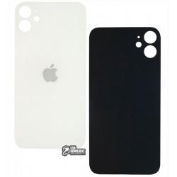 Задняя панель корпуса для iPhone 11, белая, не нужно снимать стекло камеры, small hole