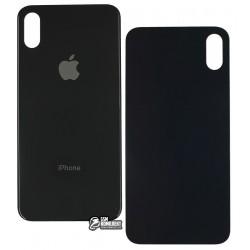 Задняя панель корпуса для Apple iPhone X, черная, Original (PRC)