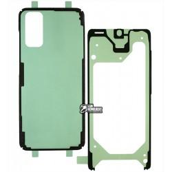 Стікер для тачскрін і задній панелі корпусу (двосторонній скотч) для Samsung G980 Galaxy S20