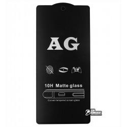 Закаленное защитное стекло для Samsung N770 Galaxy Note 10 Lite, 2.5D, Full Glue, матовое, черное
