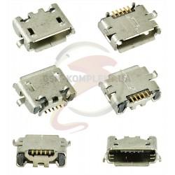 Коннектор зарядки для; планшетов, 5 pin, micro-USB тип-B, тип 10