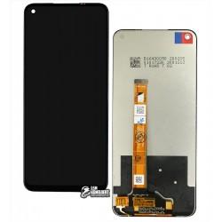 Дисплей Oppo A52, A72, A92, з сенсорним екраном (дисплейний модуль), чорний