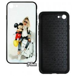Чехол для iPhone 7, iPhone 8, iPhone SE (2020), Ladies Mikey Prism, пластик-силикон