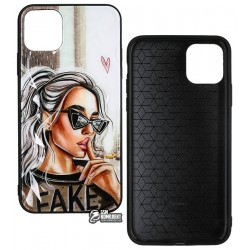 Чехол для iPhone 11 Pro Max, Ladies Fake Prism, пластик-силикон
