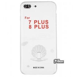 Чехол для Apple iPhone 7 Plus/ 8 Plus, KST, силикон, прозрачный