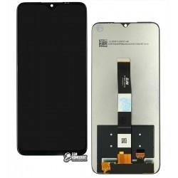 Дисплей для Xiaomi Redmi 9A, Redmi 9C, черный, с сенсорным экраном, High Copy
