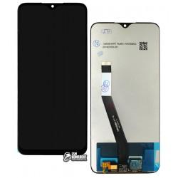 Дисплей Xiaomi Redmi 9, чорний, з сенсорним екраном (дисплейний модуль), Original (PRC)