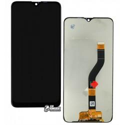 Дисплей Samsung A107 Galaxy A10s, чорний, з сенсорним екраном (дисплейний модуль), оригінал (переклеїти скло)
