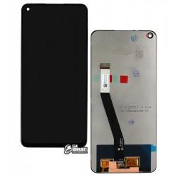 Дисплей Xiaomi Redmi Note 9, чорний, з сенсорним екраном, Original (PRC)