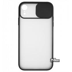 Чехол для Apple iPhone Xr, Camera Protect Matte case, силикон-пластик