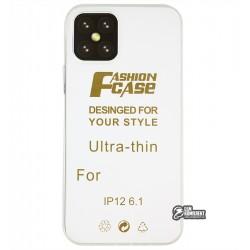 Чехол для Apple iPhone 12 / 12 Pro, силикон, прозрачный