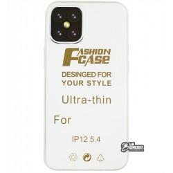 Чехол для Apple iPhone 12 mini, силикон, прозрачный
