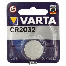 Батарейка Varta CR2032 Lithium 1шт.