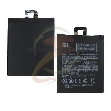 Аккумулятор BM3A для Xiaomi Mi Note 3, Li-Polymer, 3,85 В, 3400 мАч